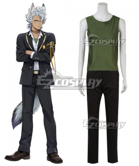 Disney Twisted Wonderland Savanaclaw Jack Howl Cosplay Costume