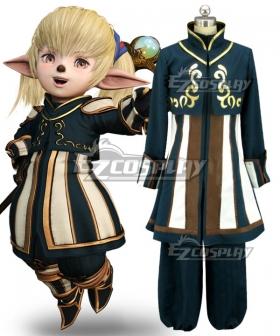Dissidia Final Fantasy NT FF11 Shantotto Cosplay Costume