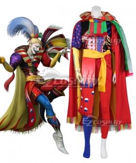 Dissidia Final Fantasy NT FF6 Kefka Cosplay Costume