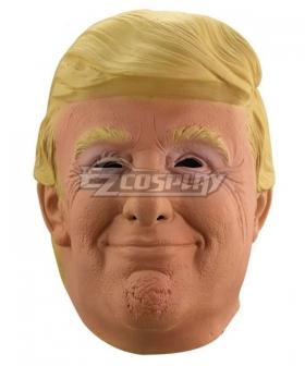 Donald Trump Halloween Mask Helmet Cosplay Accessory Prop