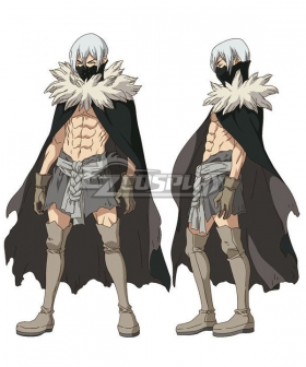 Dr.Stone Hyoga Cosplay Costume