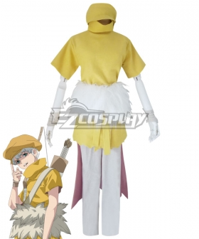 Dr.stone Ukyo Cosplay Costume
