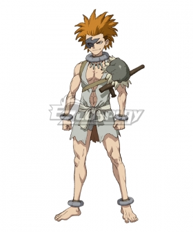 Dr.Stone Yo Orange Cosplay Wig