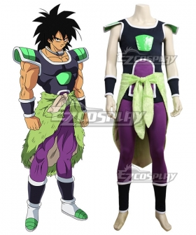 Dragon Ball Super: Broly Broly Cosplay Costume