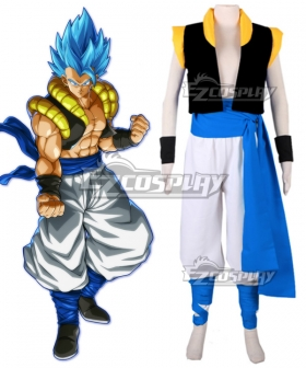 Dragon Ball Super: Broly Gogeta SSGSS Cosplay Costume