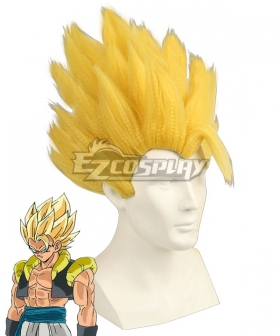 Dragon Ball Super: Broly Gogeta SSJ Golden Cosplay Wig