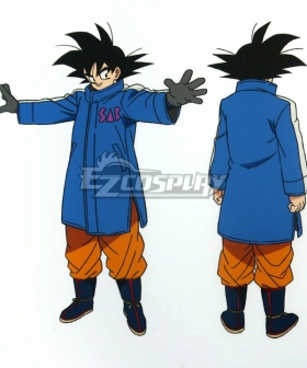 Dragon Ball Super: Broly Son Goku Kakarotto Cosplay Costume Only Coat