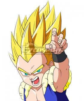 Dragon Ball Super Gotenks Super Saiyan Golden Cosplay Wig