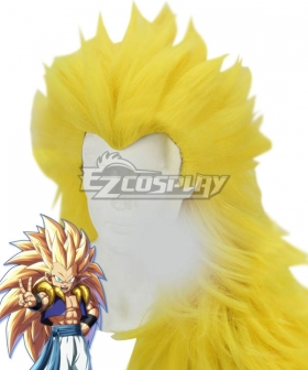 Dragon Ball Super Gotenks Super Saiyan 3 Golden Cosplay Wig