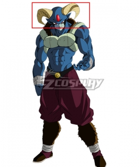 Dragon Ball Super Manga Moro Horn Cosplay Accessory Prop