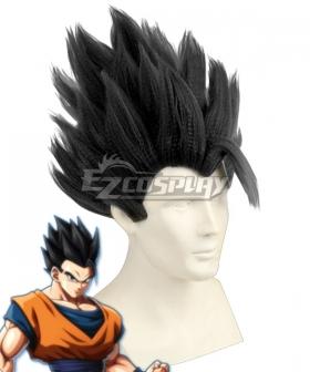 Dragon Ball Super Ultimate Son Gohan  Black Cosplay Wig
