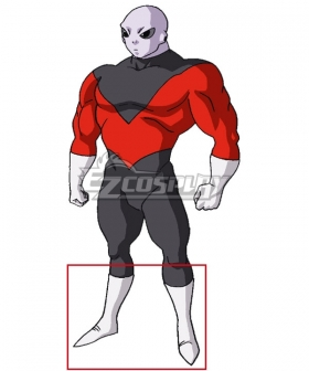 Dragon Ball Super Universe 11 Jiren White Shoes Cosplay Boots