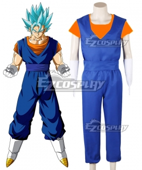Dragon Ball Super Vegetto SSGSS Blue Cosplay Costume