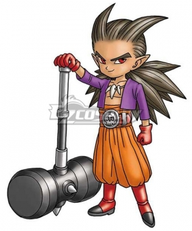 Dragon Quest Builders 2 Sid Cosplay Costume