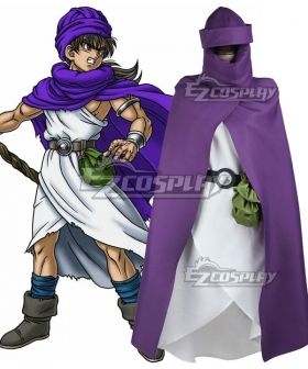 Dragon Quest V Hand of the Heavenly Bride Hero Cosplay Costume