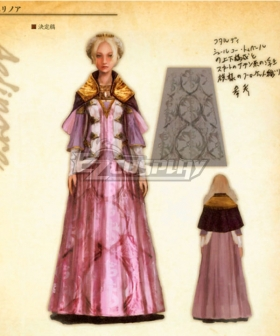 Dragon's Dogma Aelinore Cosplay Costume