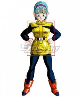Dragonball Z Bulma Planet Namek Cosplay Costume - Only Dress and Belt