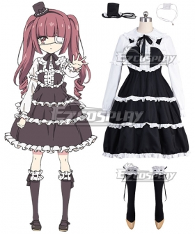 Dropkick on My Devil! Yurine Hanazono Cosplay Costume
