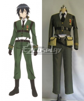 AntiMagic Academy The 35th Test Platoon Taimadou Gakuen 35 Shiken Shoutai Kusanagi Takeru Cosplay Costume
