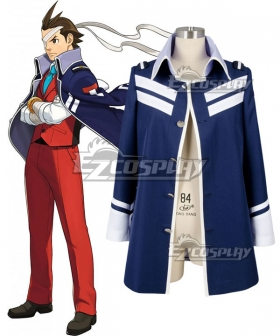 Ace Attorney Gyakuten Saiban Apollo Justice Cosplay Costume - Only Coat