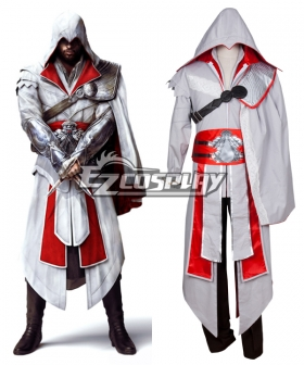 Assassin's Creed:Brotherhood Ezio Auditore Halloween Cosplay Costume