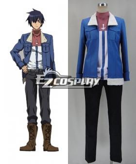 Akame Ga Kill! Wave Cosplay Costume - Shirt and Coat