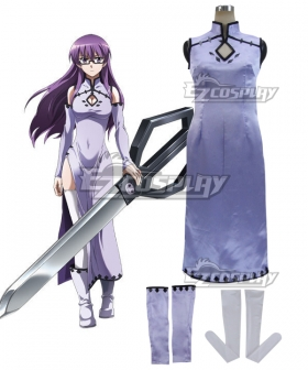 Akame Ga Kill! Night Raid Schere Cosplay Costume