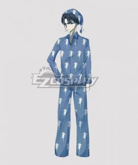Attack on Titan Levi Pajamas Cosplay Costume - Polyester
