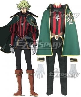 Altair: A Record of Battles Shoukoku no Altair Virgilio Louis Cosplay Costume