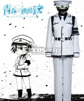 Aoharu x Machinegun Aoharu x Kikanjuu Nagamasa Midori Hoshishiro Uniform Cosplay Costume