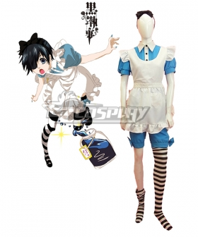 Black Butler Kuroshitsuji Ciel Phantomhive Maid Dress Cosplay Costume