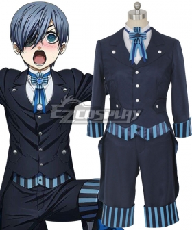 Black Butler Kuroshitsuji Movie: Book of the Atlantic Ciel Phantomhive Cosplay Costume