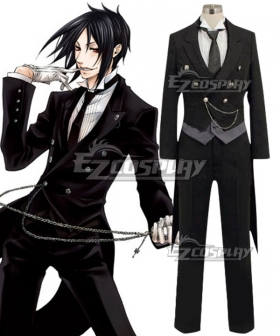 Black Butler Sebastian Michaelis Cosplay Costume