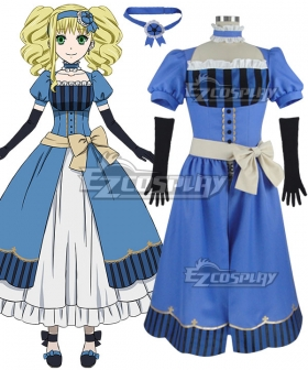 Black Butler Book of the Atlantic Elizabeth Midford Cosplay Costume - No White Skirt