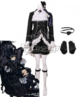 Black Butler FC Ciel Phantomhive Cosplay Costume
