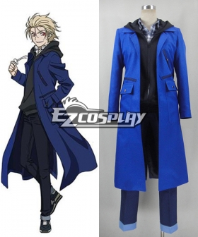 Blood Blockade Battlefront Kekkai Sensen Black brother the King of Despair Zetsubou ou Cosplay Costume