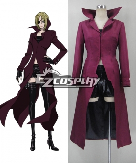Blood Blockade Battlefront K·K Cosplay Costume