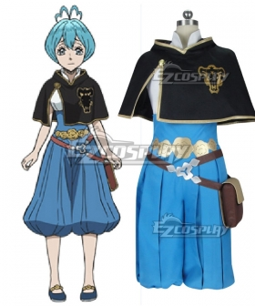 Black Clover Grey Cosplay Costume