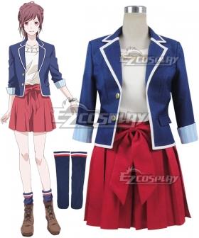 B-Project Kodou Ambitious Tsubasa Sumisora Cosplay Costume