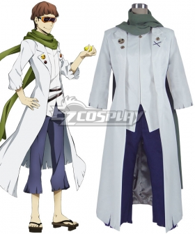 Bungou Stray Dogs Motojiro Kajii Cosplay Costume