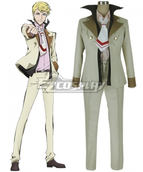 Bungou Stray Dogs Francis Scott Key Fitzgerald Cosplay Costume