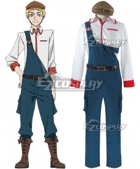 Bungou Stray Dogs John Steinbeck Cosplay Costume