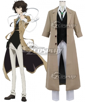 Bungou Stray Dogs Osamu Dazai Brown Cosplay Costume