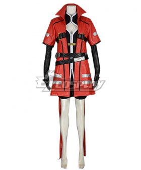Blazblue Ragna The Bloodedge Female Cosplay Costume