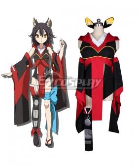 Chaos Dragon Sekiryuu Senyaku Keiosu Doragon Red Dragon Eiha Cosplay Costume