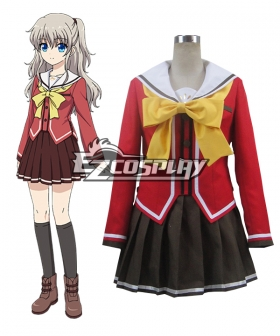 Charlotte Nao Tomori Uniform Cosplay Costume