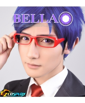 Bella Eye CosCon Free! Iwatobi Swim Club Ryugazaki Rei Purple  Cosplay Contact Lense