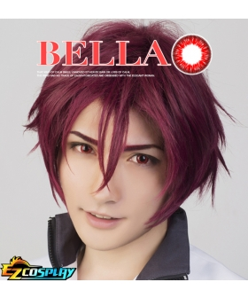 Bella Eye CosCon Free! Iwatobi Swim Club Iwatobi High School Matsuoka Gou Red Cosplay Contact Lense