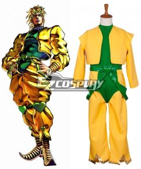 Jojo's Bizarre Adventure Dio Brando Cosplay Costume