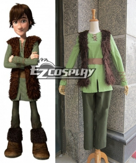 How to Train Your Dragon Hiccup Cosplay Costume